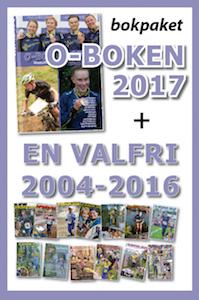 O-boken 2017 + en valfri tidigare O-boken